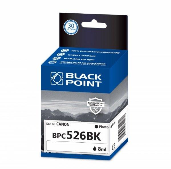 Black Point tusz BPC526BK zastępuje Canon CLI-526BK, foto