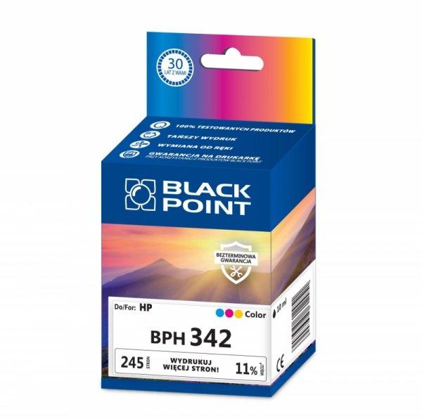 Black Point tusz BPH342 zastępuje HP C9361EE, trójkolorowy