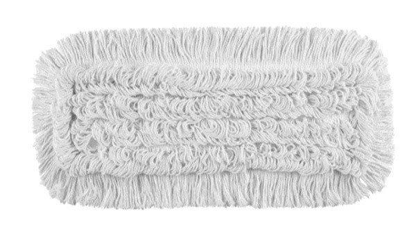 Mop Tes (2 oczka) bawełna biała linia premium 40cm Pętelkowy