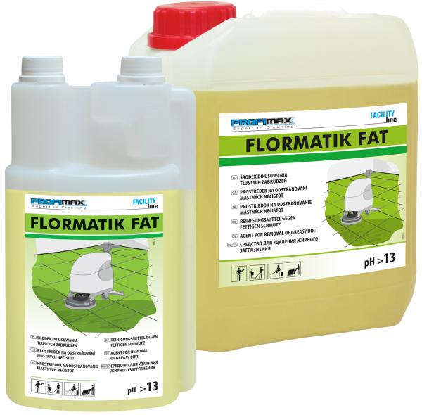 FLORMATIK FAT - środek do usuwania tłustego brudu 1l