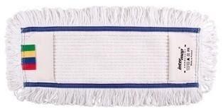 Mop kieszeniowy bawełna biała tuft krzyżowy linia premium 50cm Pętelkowy
