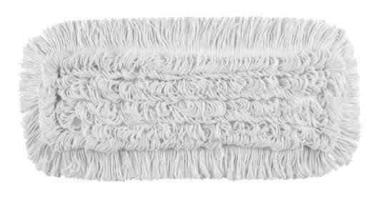 Mop Tes bawełna biała linia premium    40cm Pętelkowo – Ciety