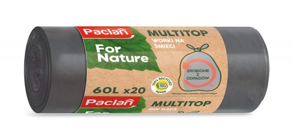 WOREK MULTITOP 60L 20SZT. Paclan For Nature