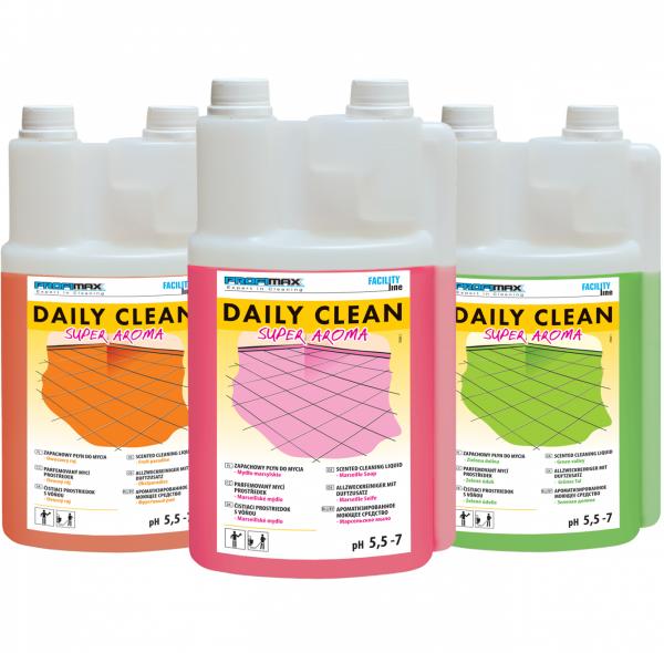 DAILY CLEAN Super Aroma - do zapachowego mycia - owocowy raj 5l