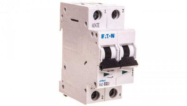 Wyłącznik nadprądowy 2P D 32A AC FAZ D32/2 278786