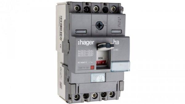 Wyłącznik mocy 80A 3P 25kA HHA080H
