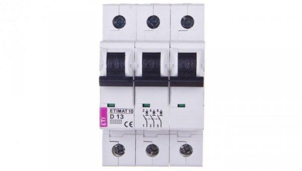 Wyłącznik nadprądowy 3P D 13A 10kA AC ETIMAT10 002155715