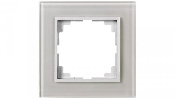 Sentia Ramka pojedyncza szklana biała 1471-62