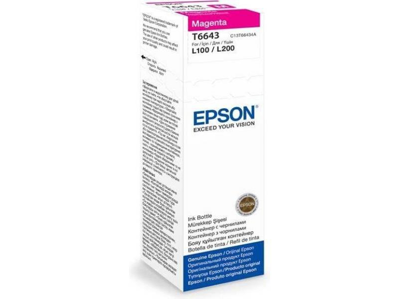Atrament magenta w butelce 70ml do Epson L100/L200/L210/L355