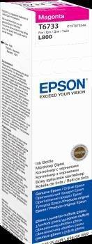 Atrament magenta w butelce 70 ml (T6733) do Epson L800/L850/L800/L850