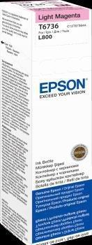 Atrament light magenta w butelce 70 ml (T6736) do Epson L800/L850/L800/L850