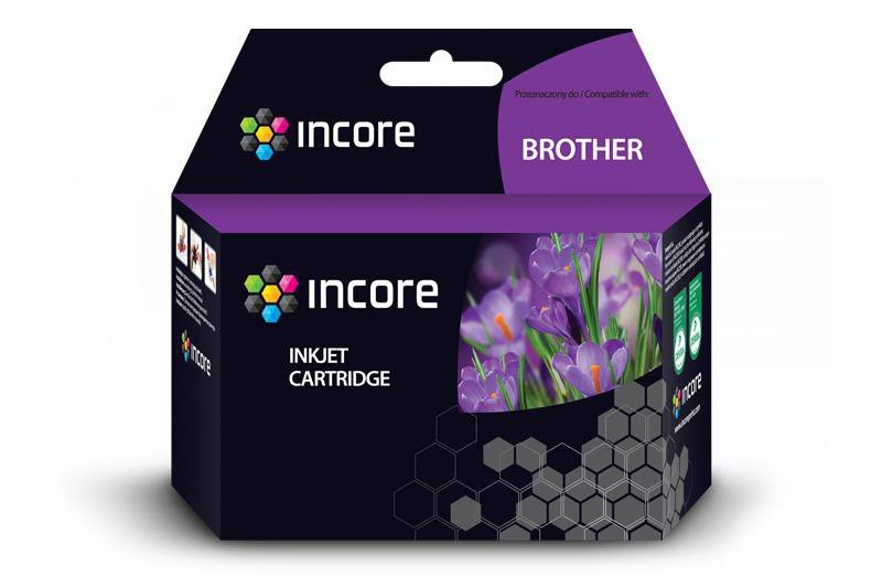 Tusz INCORE do Brother (LC125XL-C) Cyan 15ml reg.