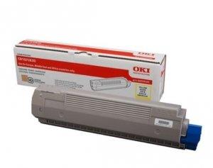 OKI Toner-C810/C830 YELLOW 8K  44059105