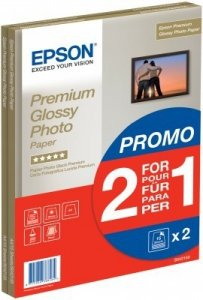 Epson Premium Glossy Photo Pap A4, 255g/m., 30 Sheet