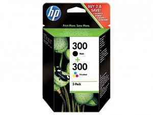 HP Inc. Combo Pack Tusz 300 Czarny + Kolorowy CN637EE