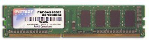 Patriot DDR3 Signature 4GB/1333(1*4GB) CL9