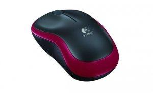 Logitech Mysz bezprzewodowa M185 910-002240 Red