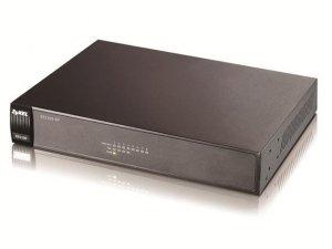 Zyxel ES1100-8P switch L2 8x10/100Mbps 4xPoE(802.3af) fanless rackmount 19