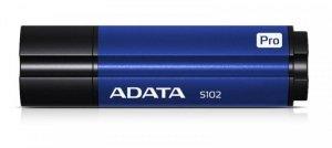Adata Pendrive DashDrive Elite S102 Pro 64GB USB 3.2 Gen1 niebieski