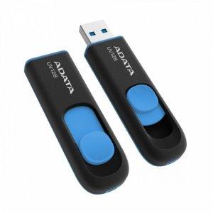 Adata Pendrive DashDrive UV128 64GB USB 3.2 Gen1 czarno - niebieski