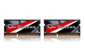 G.SKILL SODIMM Ultrabook DDR3 16GB (2x8GB) Ripjaws 1600MHz CL9 - 1.35V Low Voltage