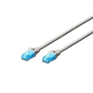 Digitus Patch cord U/UTP kat.5e PVC 30m szary