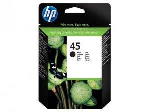HP Inc. Tusz nr 45 Czarny 51645AE