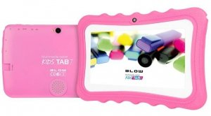 BLOW Tablet KidsTAB7.4HD2 quad różowy + etui