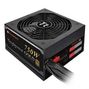 Thermaltake Toughpower 750W Modular (80+ Gold, 4xPEG, 140mm, Single Rail)