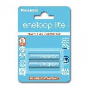 Panasonic ENELOOP LITE AAA 550mAh 3000 CYKLI 2SZT.