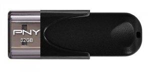PNY Pendrive 32GB USB2.0 ATTACHE4 FD32GATT4-EF