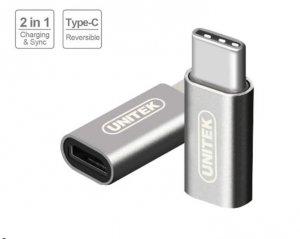 Unitek Adapter USB TYP-C do microUSB; Y-A027AGY