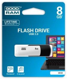 GOODRAM COLOUR BLACK&WHITE 8GB USB2.0