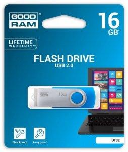 GOODRAM TWISTER 16GB Blue USB2.0