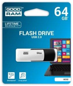 GOODRAM COLOUR BLACK&WHITE 64GB USB2.0