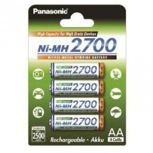 Panasonic AKUMULATORY NI-MH 4ST 2,500 MAH HIGH CAPACITY