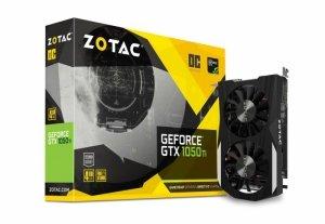 ZOTAC Karta graficzna GeForce GTX 1050 Ti OC 4GB GDDR5 128BT DP/HDMI/DVI-D/HDCP