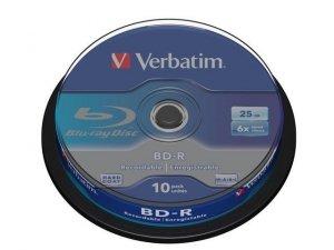 Verbatim BD-R 6x 25GB 10P CB 43742