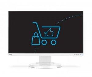NEC Monitor 24 Multisync E241N IPS DP HDMI Biały