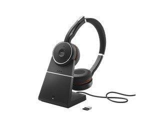 Jabra Evolve 75 UC Stereo + charging stand