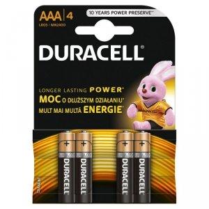 Duracell Basic AAA/LR03 4szt kartonik
