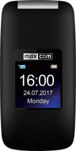 Maxcom MM824BB CZARNY Poliphone/Big button