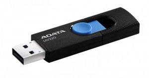 Adata Pendrive UV320 32GB USB 3.2 Gen1 Czarno-niebieski