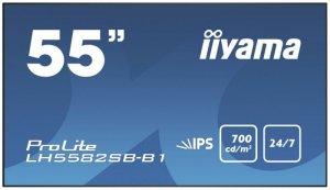 IIYAMA Monitor 55 LH5582SB-B1 24/7,IPS,700CD/M2,USB,DP