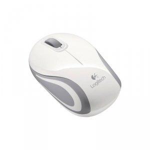 Logitech M187 Myszka bezprzewodowa biała   910-002735