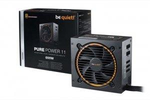 Be quiet! Zasilacz Pure Power 11 600W 80+ GOLD S.MODU BN298