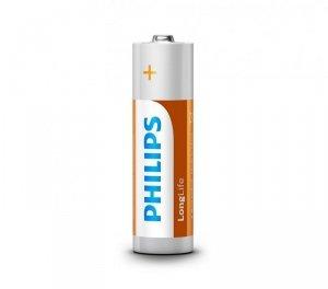 Philips Baterie LongLife AA 4szt. blister