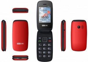 Maxcom Telefon MM 817 czerwony