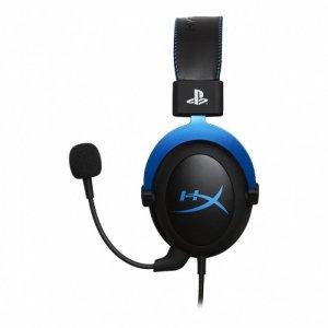 HyperX Słuchawki Cloud Gaming niebieskie PS4