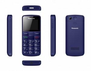 Panasonic Telefon komórkowy dla seniora KX-TU110 niebieski